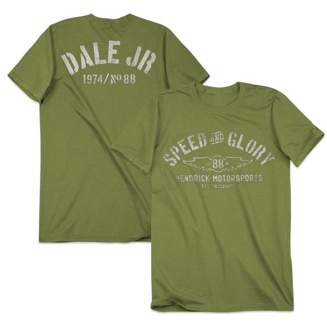 Hendrick Motorsports Dale Jr. #88 Men's Speed & Glory T-Shirt