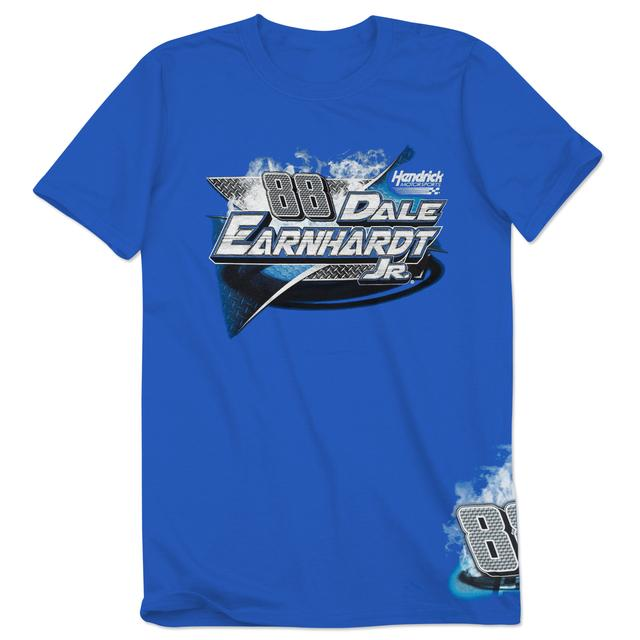 Hendrick Motorsports Dale Jr. #88 Royal Burnout T-Shirt