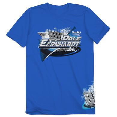 Hendrick Motorsports Dale Jr. #88 Royal Burnout T-Shirt