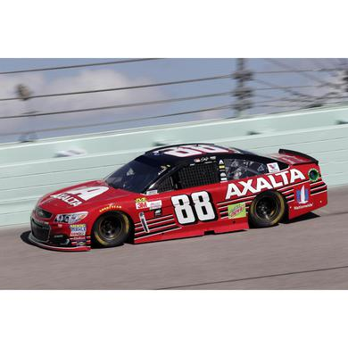 Hendrick Motorsports Dale Earnhardt, Jr. 2017 NASCAR Cup Series No. 88 Axalta Last Ride Homestead Raced 1:64 Die-Cast