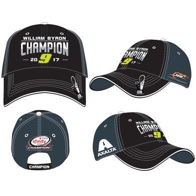 Hendrick Motorsports 2017 William Byron XFINITY Adult Championship Victory  Hat