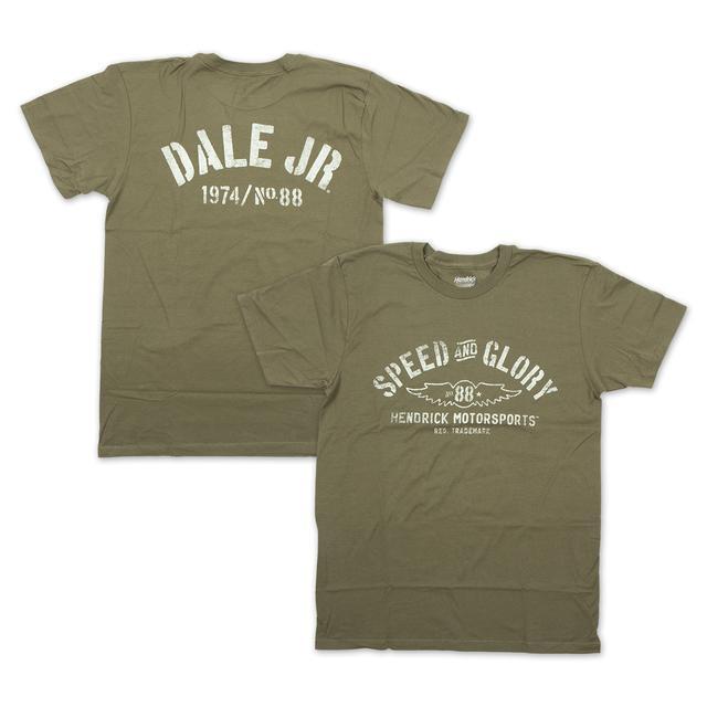 Hendrick Motorsports Dale Jr. #88 Men's Speed & Glory T-Shirt