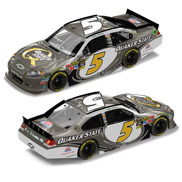 Hendrick Motorsports Kasey Kahne Quaker State 1:24 Scale Brushed Metal DieCast