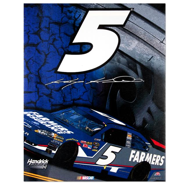 "Hendrick Motorsports Kasey Kahne #5 11"" x 14"" Canvas Print"