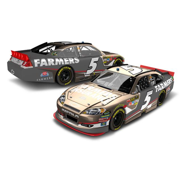 Hendrick Motorsports Kasey Kahne #5 Famers Insurance Rampage 1:24 Scale Diecast