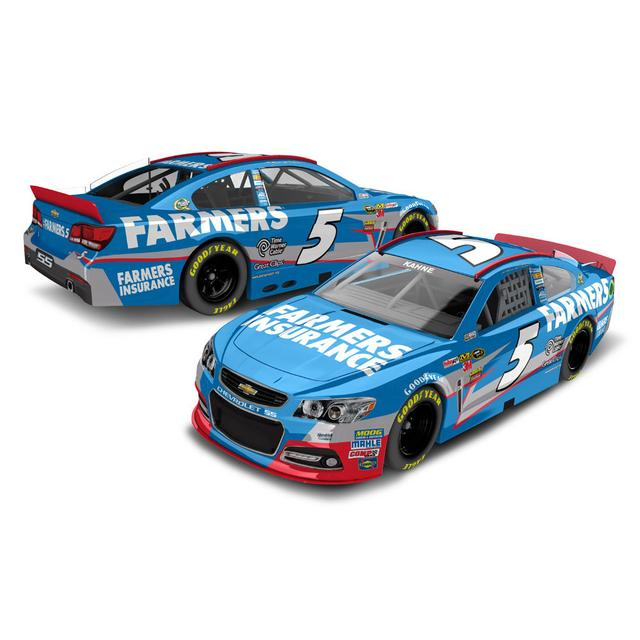 Hendrick Motorsports Kasey Kahne 2013 Farmers Insurance 1:24 Scale diecast HOTO
