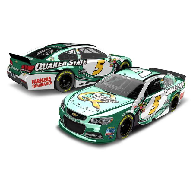 Hendrick Motorsports Kasey Kahne 2013 Quaker State 1:24 Scale diecast COLOR CHROME