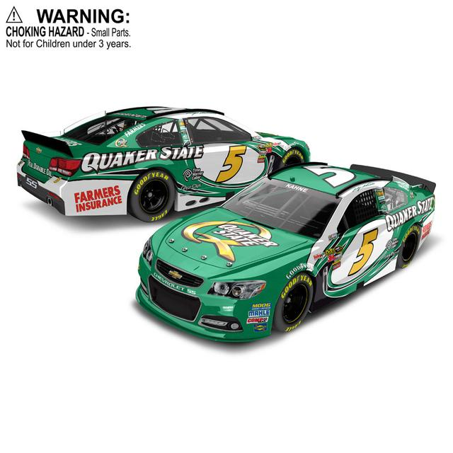 Hendrick Motorsports Kasey Kahne 2013 Quaker State 1:64 Scale diecast HARDTOP