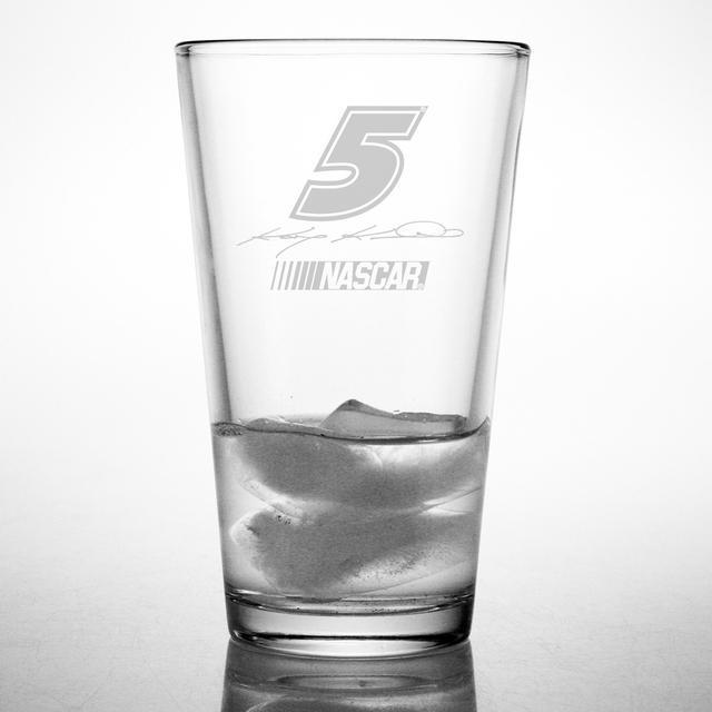 Hendrick Motorsports Kasey Kahne 16oz Etched Pint Glass