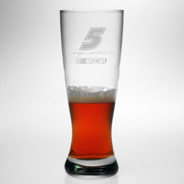 Hendrick Motorsports Kasey Kahne 20oz Etched Grand Pilsner Glass