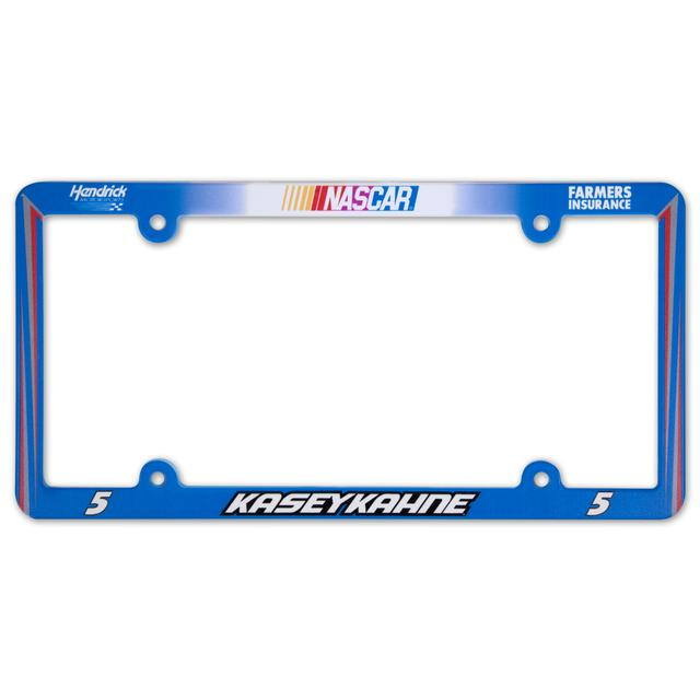 Hendrick Motorsports Kasey Kahne #5 Farmers Plastic License Plate Frame