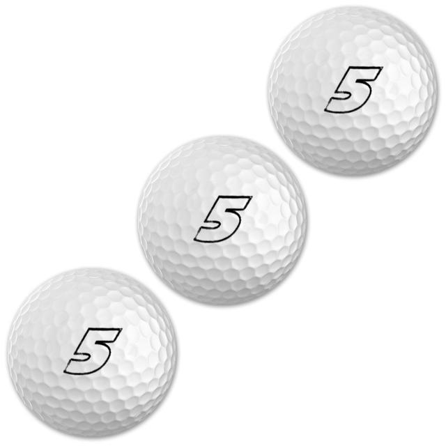 Hendrick Motorsports Kasey Kahne 3-Pack Sleeve Golf Balls