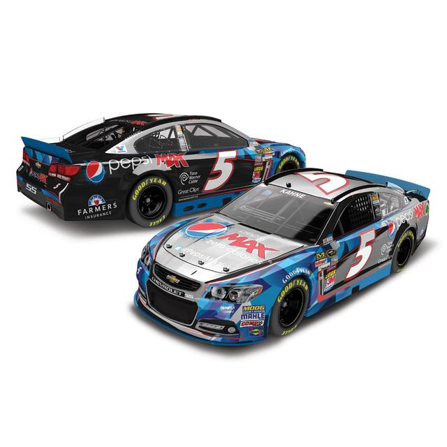 Hendrick Motorsports Kasey Kahne #5 2014 Pepsi Max 1:24 Scale Diecast COLOR CHROME