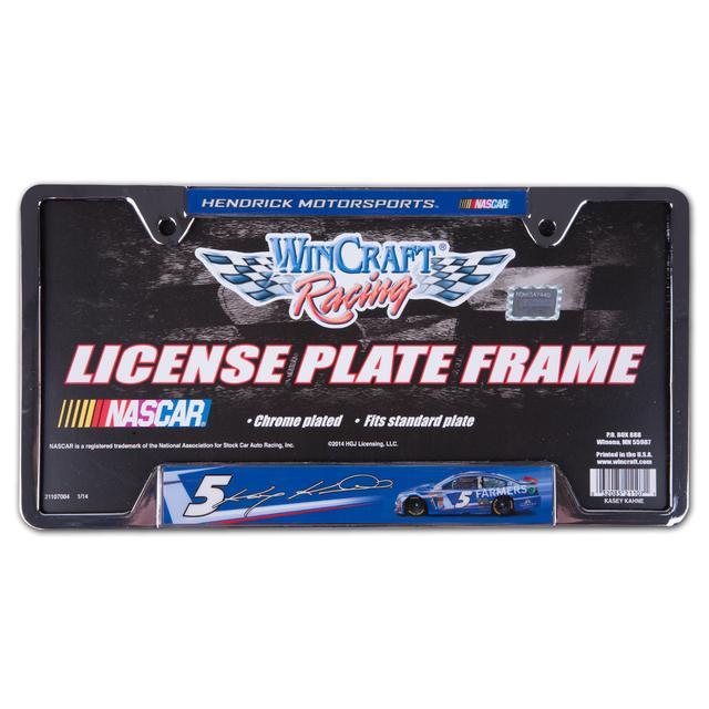 Hendrick Motorsports Kasey Kahne-2014 license plate frame