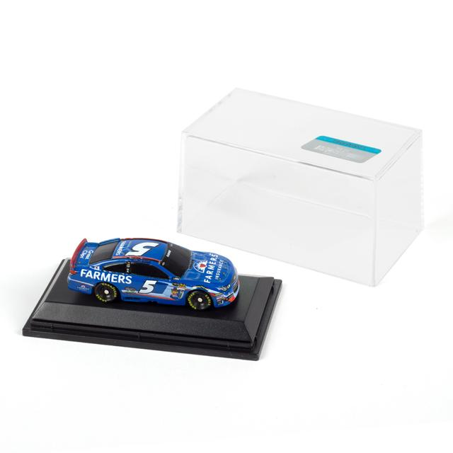 Hendrick Motorsports Kasey Kahne - Farmers Insurance 1:87 Scale Die-Cast Jewel Case