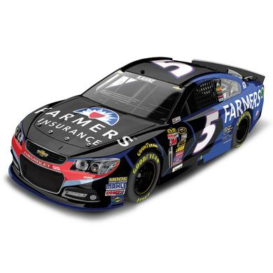 Hendrick Motorsports Kasey Kahne 2015 #5 Farmers 1:24 Scale Nascar Sprint Cup Series Die-Cast