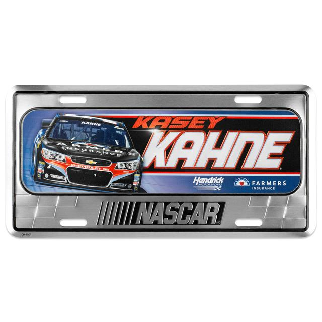 Hendrick Motorsports Kasey Kahne 2015 Metal License Plate