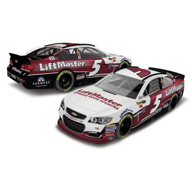 Hendrick Motorsports Kasey Kahne 2016 #5 LiftMaster 1:24 Nascar Sprint Cup Series Scale Die-Cast