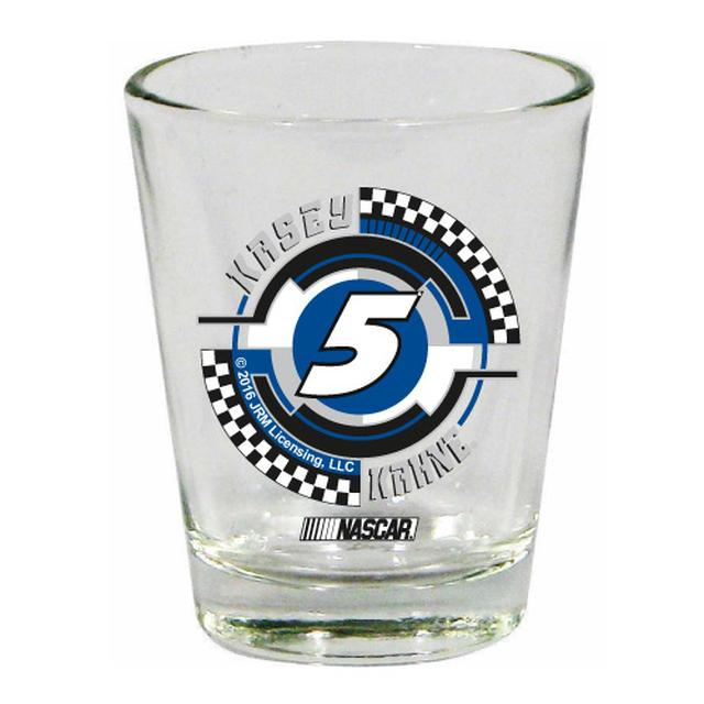 Hendrick Motorsports Kasey Kahne #5 2 oz. Collector Glass