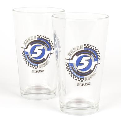 Hendrick Motorsports Kasey Kahne #5 2 Pack Mixing Glasses