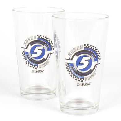 Hendrick Motorsports Kasey Kahne #5 2 Pack Mixing Glasses