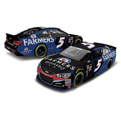 Hendrick Motorsports Kasey Kahne 2017 #5 Farmer's Insurance 1:24 Scale Nascar Cup Series Die-Cast