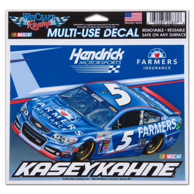 Hendrick Motorsports Kasey Kahne-2014 5x6 ultra decal