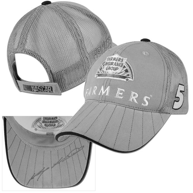 Hendrick Motorsports Kasey Kahne #5 Farmers Solo Mesh Adjustible Hat