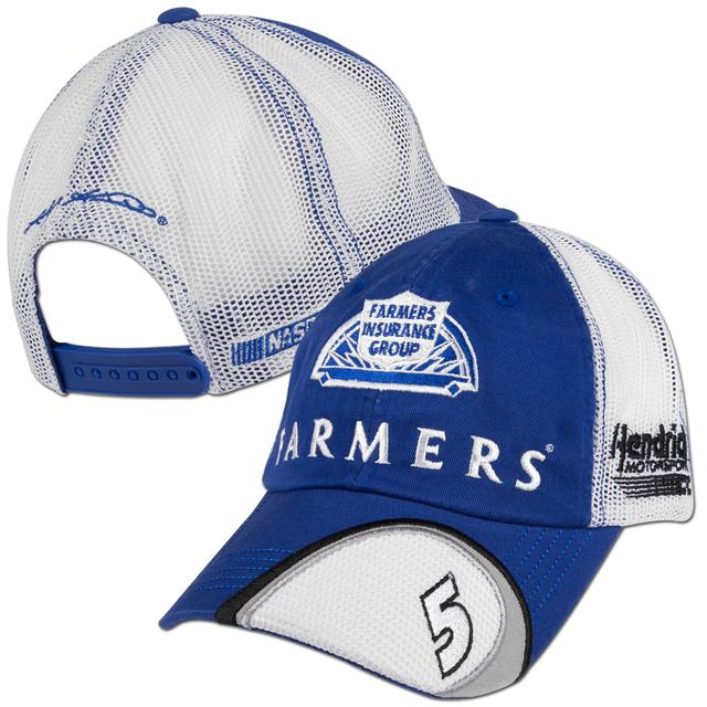 Hendrick Motorsports Kasey Kahne #5 Farmers Old School Adjustible Hat