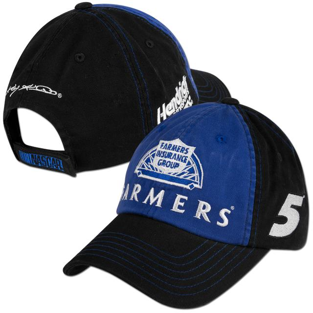 Hendrick Motorsports Kasey Kahne #5 Farmers Fan Adjustible Hat