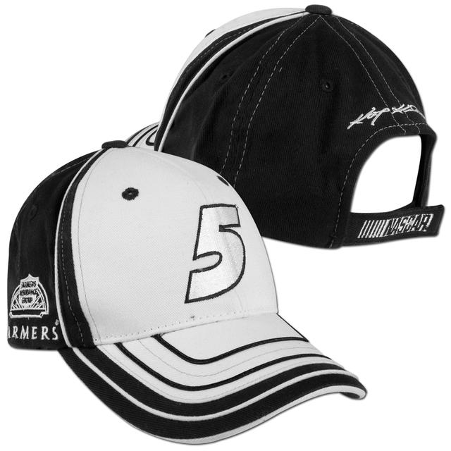Hendrick Motorsports Kasey Kahne #5 Farmers Big Number Adjustable Hat