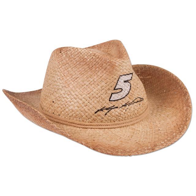 Hendrick Motorsports Kasey Kahne #5 Straw Cowboy Hat