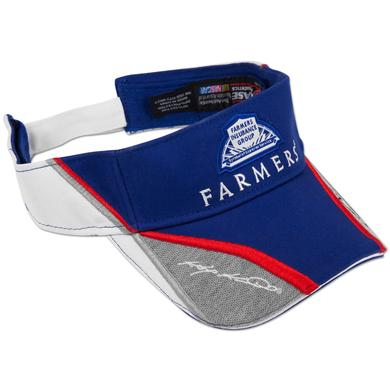 Hendrick Motorsports Kasey Kahne #5 Farmers Downforce Visor