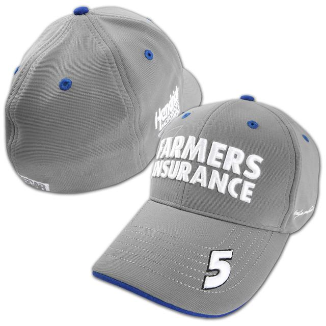 Hendrick Motorsports Kasey Kahne #5 Farmers Dual Threat Stretch Fit Hat
