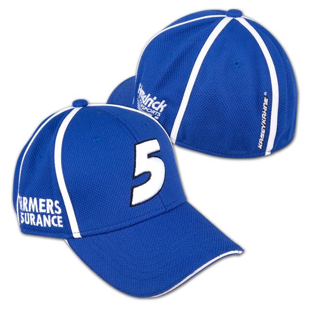 Hendrick Motorsports Kasey Kahne #5 Farmers Backstretch Stretch Fit Hat