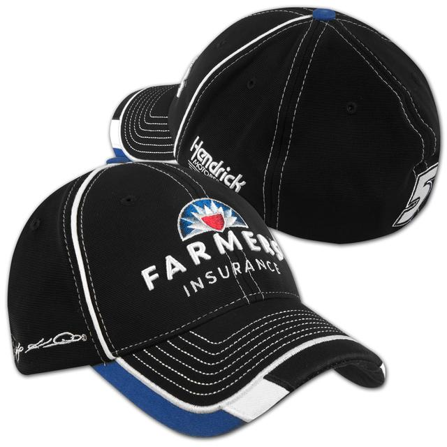 Hendrick Motorsports Kasey Kahne #5 Farmers Garage Stretch Fit Cap