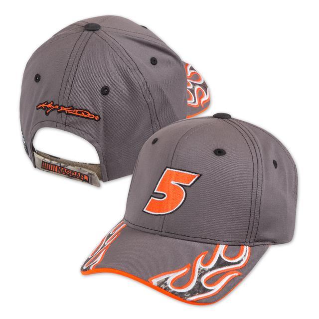 Hendrick Motorsports Kasey Kahne #5 Camo Flame Hat