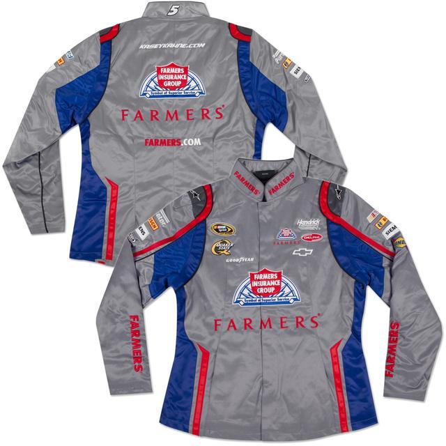 Hendrick Motorsports Kasey Kahne #5 Farmers Ladies Replica Jacket