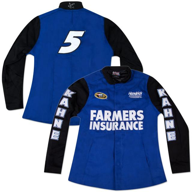Hendrick Motorsports Kasey Kahne #5 Farmers Ladies Big Number Jacket