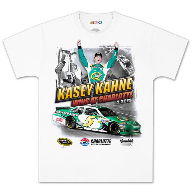 Hendrick Motorsports Kasey Kahne #5 2012 Charlotte Win Tee