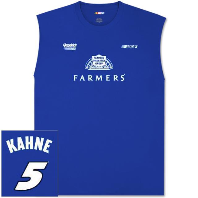 Hendrick Motorsports Kasey Kahne Farmers Player Sleeveless T-shirt