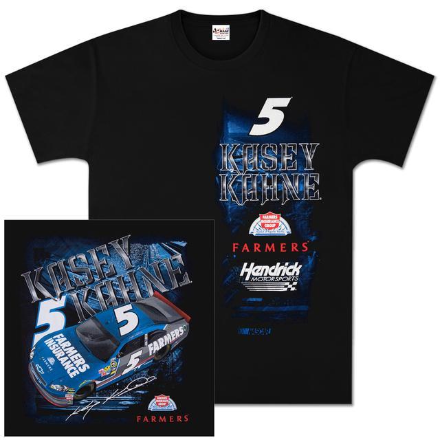 Hendrick Motorsports Kasey Kahne #5 Farmers Insurance Chamber T-shirt