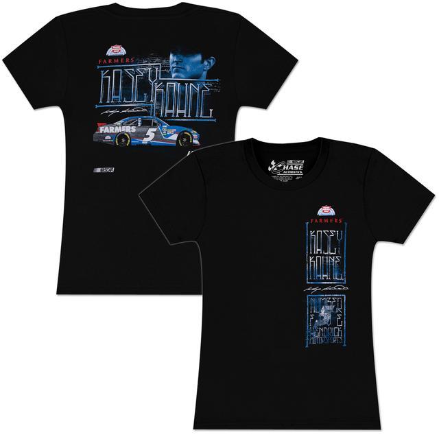 Hendrick Motorsports Kasey Kahne #5 Farmers Ladies Fabric T-shirt