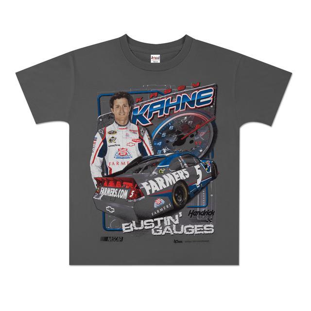 Hendrick Motorsports Kasey Kahne #5 Farmers Youth Tach T-shirt