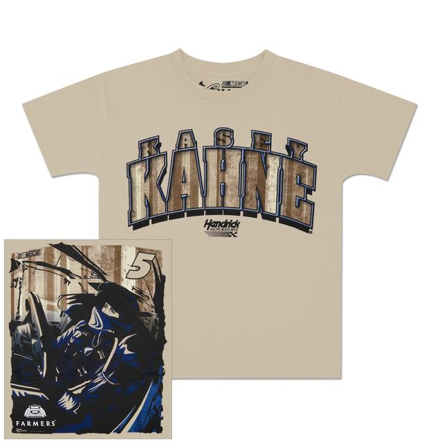 Hendrick Motorsports Kasey Kahne #5 Farmers Youth Racer T-shirt