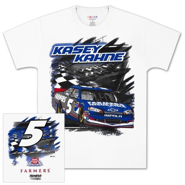 Hendrick Motorsports Kasey Kahne #5 Farmers Speedway T-shirt
