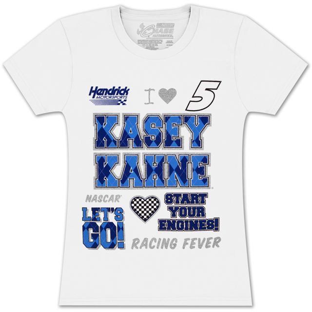 Hendrick Motorsports Kasey Kahne #5 Farmers Girls Crest T-shirt
