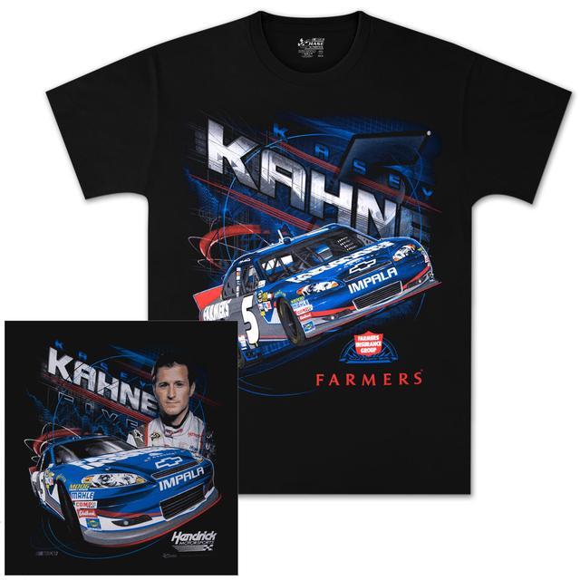 Hendrick Motorsports Kasey Kahne #5 Farmers Burnout T-shirt