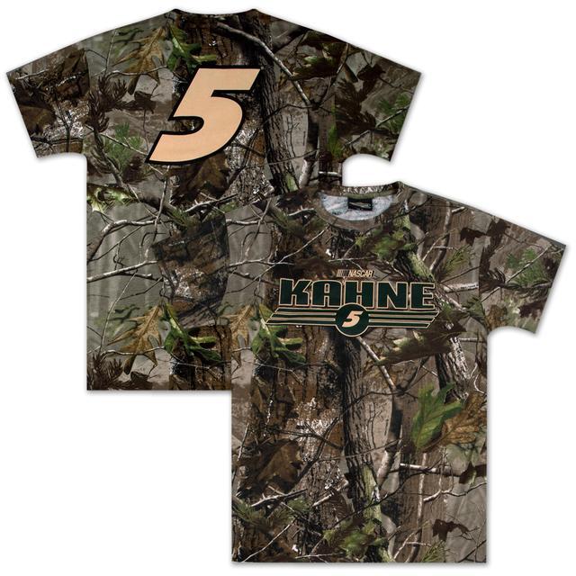 Hendrick Motorsports Kasey Kahne #5 Realtree AOP T-shirt