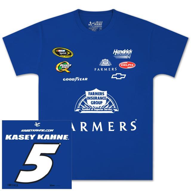 Hendrick Motorsports Kasey Kahne Farmers Uniform T-shirt